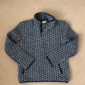 Madewell Popover snap neck ski sweater XXS